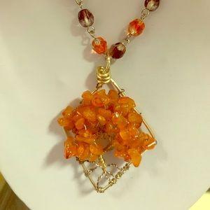 Cornelia Tree of Life Necklace